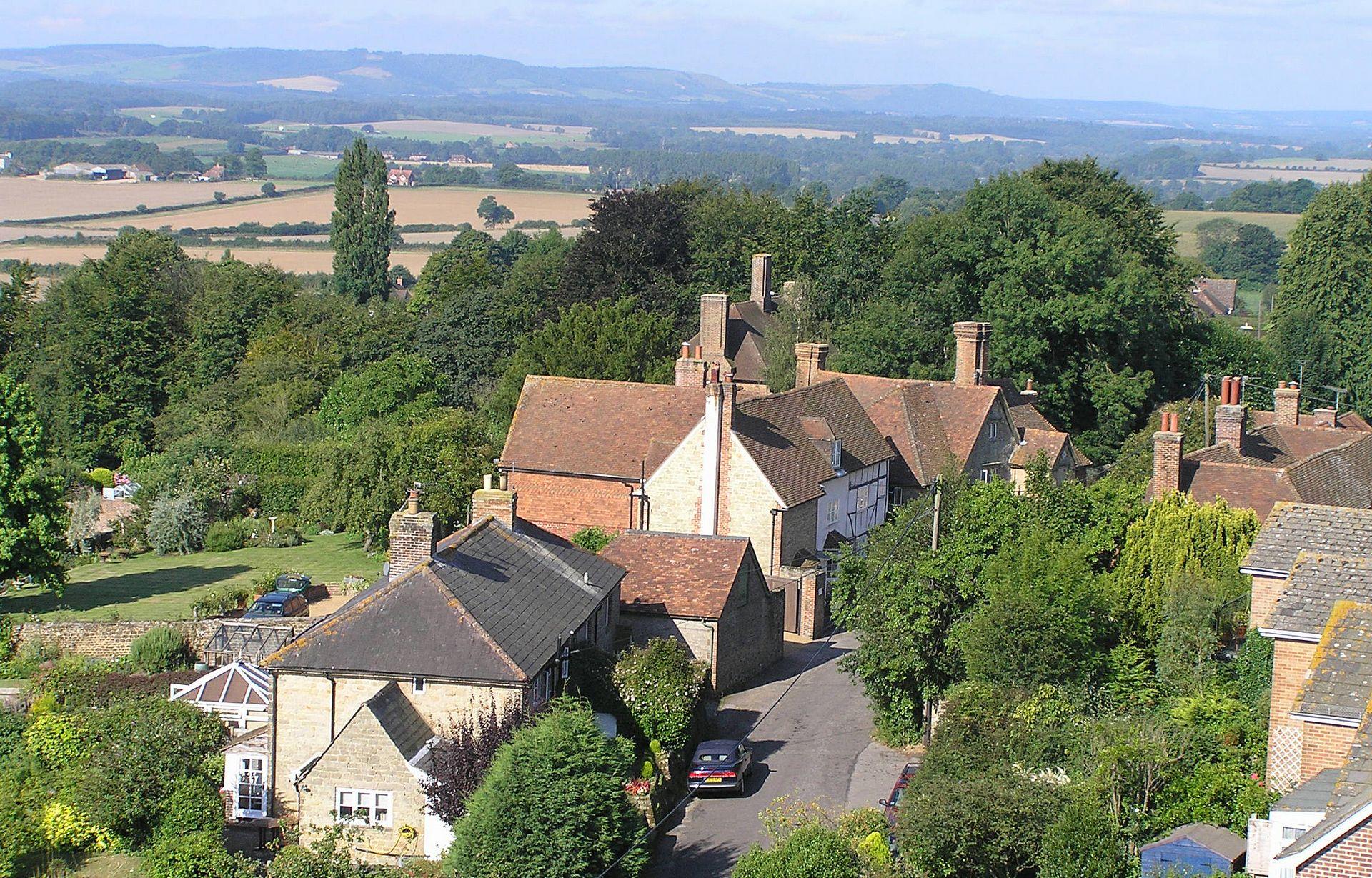 Aeriel View of Tillington